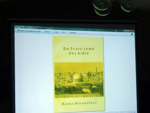 5.11. 2013 Beseda s cestovatelkou Hanou Hosnedlovou