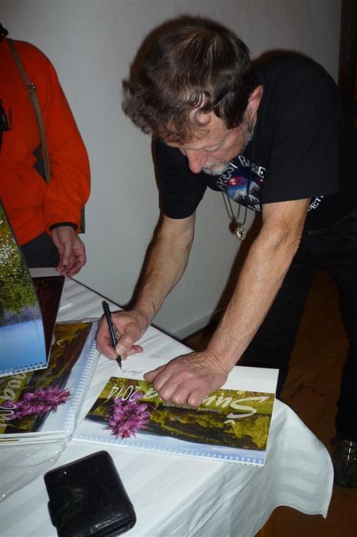 16 . 10. 2013 Beseda s fotografem V. Hoškem