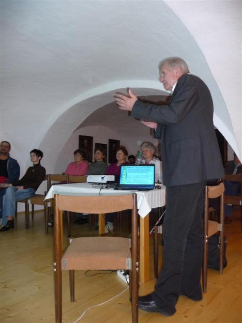 3.10.2012 Beseda s L. Přívozníkem - RAKOVINA - CIVILIZAČNÍ CHOROBA