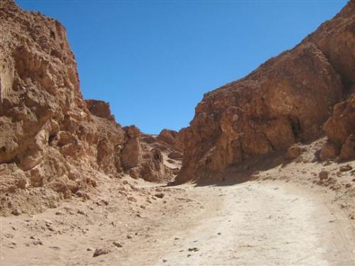 Údolí smrti Chile