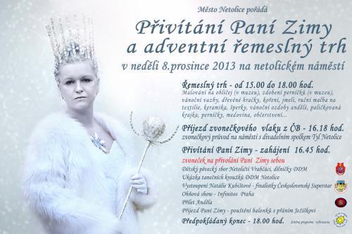 8. 12. 2013 Paní Zima