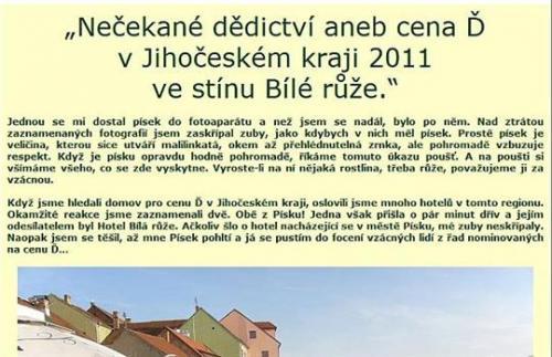 23.5.2011 Předávání krajských cen Ď v Písku