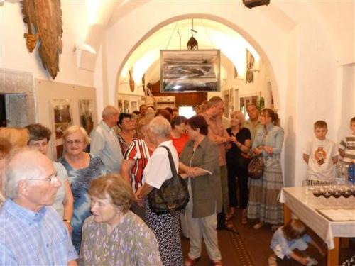 7.6.2011 Vernisáž výstavy ŚUMAVSKÉ PANORAMY - Vladimír Dousek