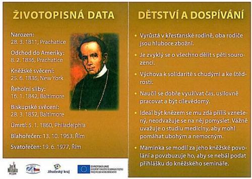 26.9.2011 Přednáška Sv. Jan Nepomuk Neumann - přednášející P. Pavel Liška