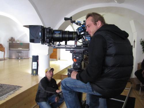 6. 6.2013 natáčení vsalonku muzea - Babovřesky