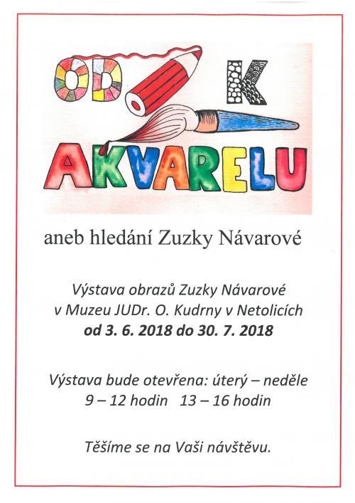 Plakátek výstavy