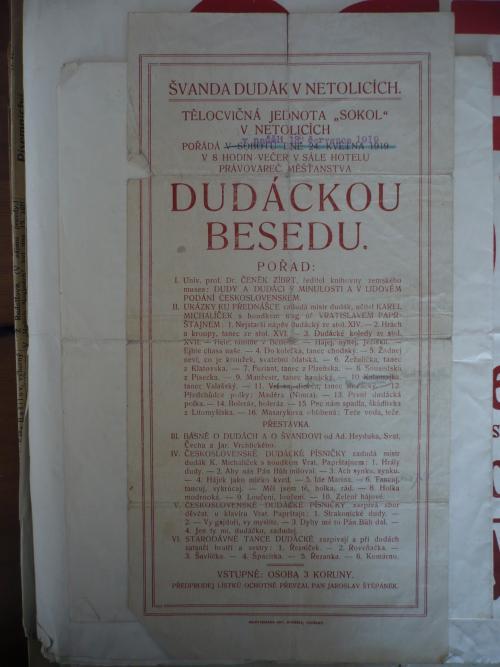 19. 3. 2019 Mgr. Jan Kouba - DUDÁCKÁ BESEDA  - ČENĚK ZÍBRT