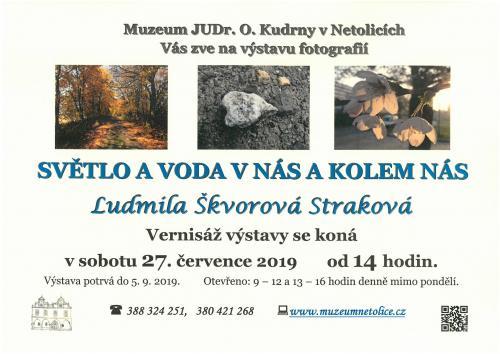 Výstava Ludmila Škvorová Straková