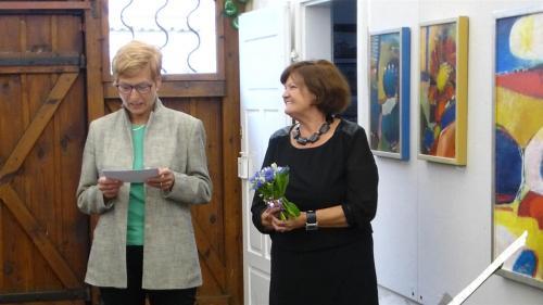 Marie Ptáčková aJana Vokurková