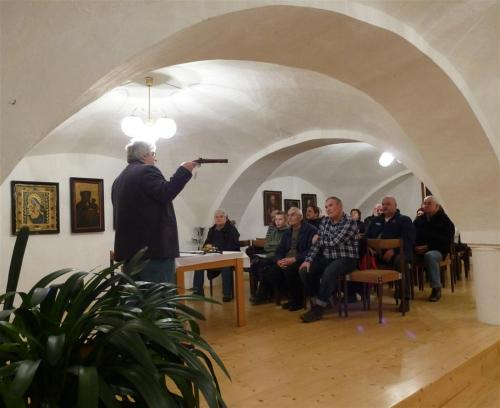 3. 2. 2015 Beseda V. Šindelář - Souboje slavné i neslavné