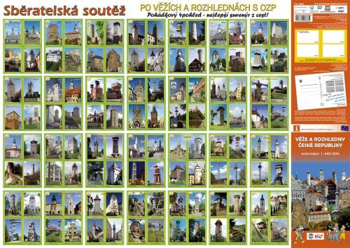 pohlednice věží arozhleden