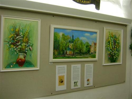 11. 8. - 30.8. 2012 Výstava obrazová - Karel Kupka - ŠTĚTCEM A BARVAMI